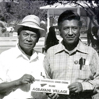 Agbayani Village Construction at 40 Acres in Delano 1973