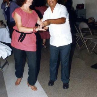Cesar Chavez & Linda LeGerrette 1982
