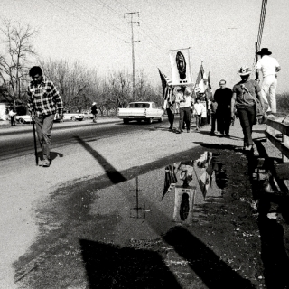 Cesar Chavez / Suffering / Photo by Jon Lewis