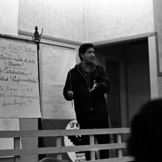 Cesar Chavez / Teaching / Photo by Nick Jones