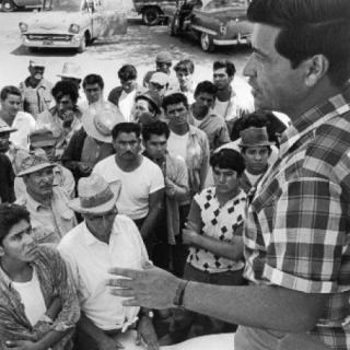 Cesar Chavez / Organizing / Photo by Jon Lewis