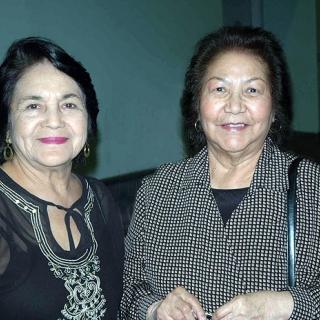 Dolores Huerta & Helen Chavez. Los Angeles 2001
