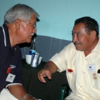 Richard Chavez (RIP) Welcomes Marcos Munoz To 40th Anniversary