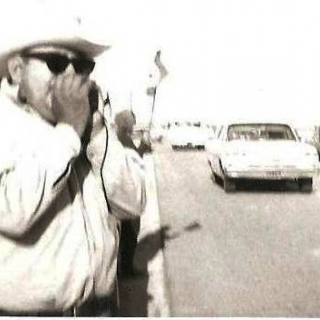 Don Jesus on Coachella Valley picket line. / 1970 / Photo by Jesus M. Sanchez