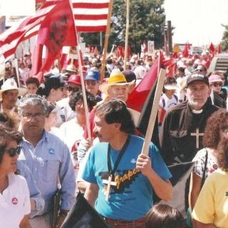 Delano to Sacramento, 340 miles. / 1994