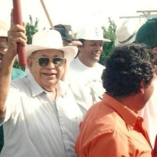Ben Benavidez, MAPA President & Don Jesus / Parlier / 1994