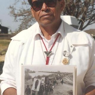 Capitan Roberto Bustos, 1966 March To Sacramento / Delano / 1994