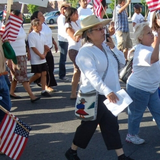 Gloria Hernandez, community activist / Parlier roots / 2011