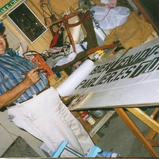 Don Jesus age 70 / Taller Grafico / Parlier 1994