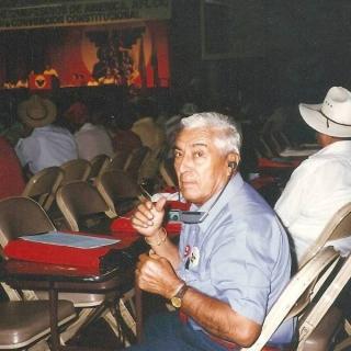 Jose Perez Colin, delegate to UFW 13th convention.