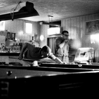 People\'s Bar Delano CA 1966 / Photo by Mark Jonathan Harris