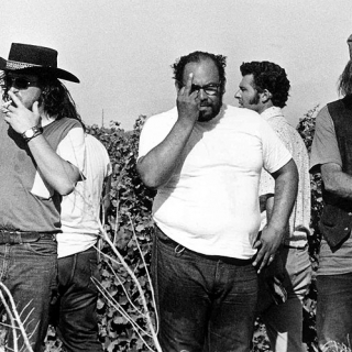 Teamster goons on Coachella picket line 1973