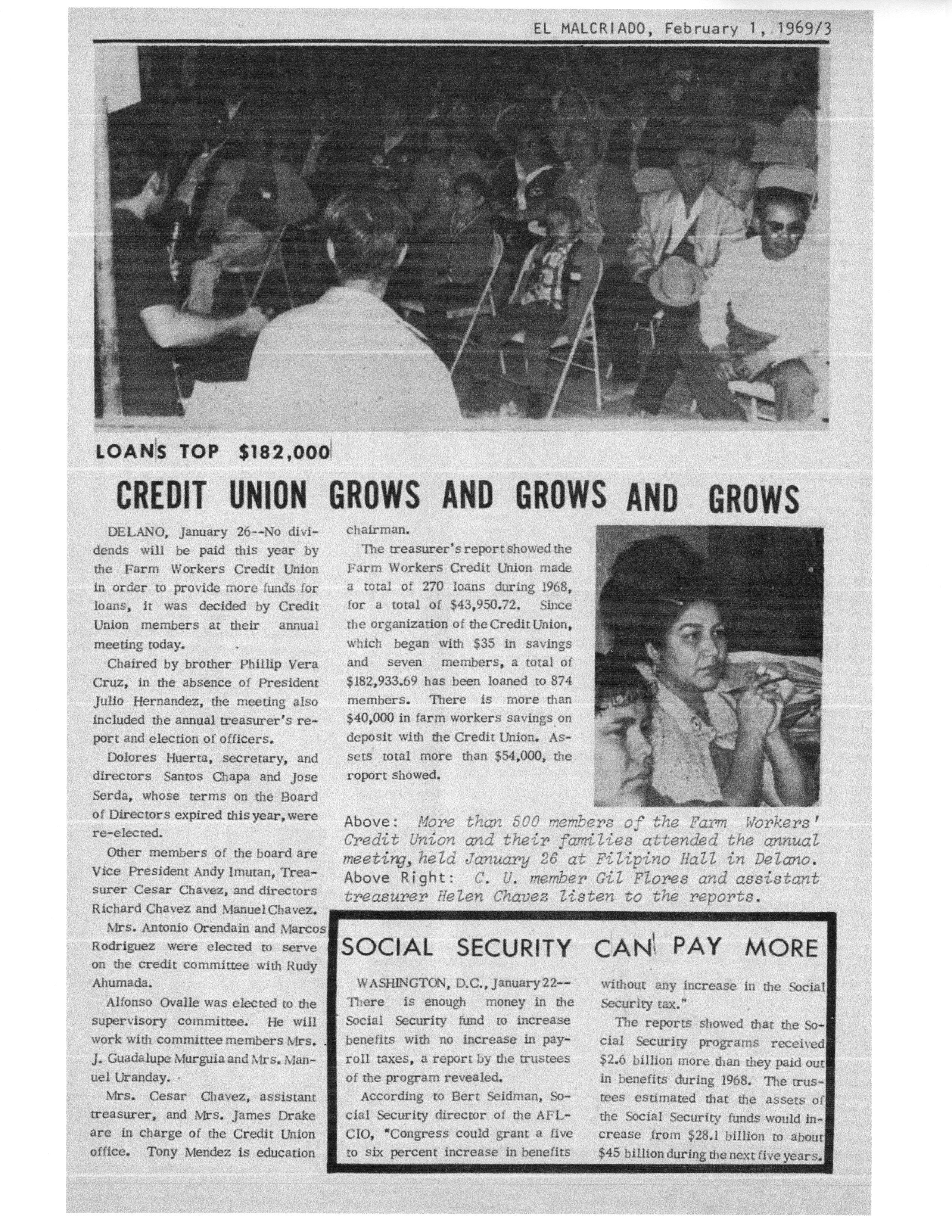 farm worker credit union essay photos acirc farmworker movement 1969